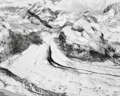Trevor Paglen, 'Gornergletscher Hough Lines; Haar', 2018