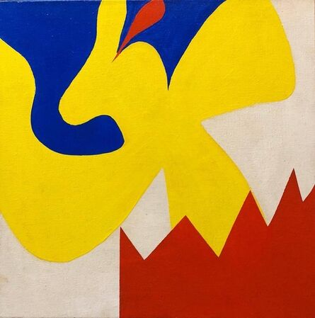 Richard Tum Suden, 'JESTERS LAMENT XI 1963 Abstract Expressionist Painting Tibor de Nagy Gallery', 1960-1969