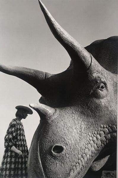 Jeanloup Sieff, 'Ina Balke, coat Monte-Sano & Pruzan, World's Fair, New York, Harper's Bazaar', 1964