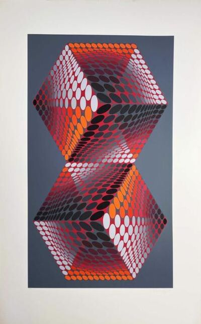 Victor Vasarely, 'Album Meta: Seven Plates 1', 1976