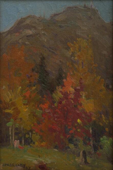 John William Beatty, 'Autumn Hillside', 1912