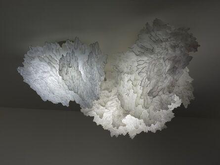 Ayala Serfaty, 'Umnaya: Soma light sculpture composed of three clouds', 2015