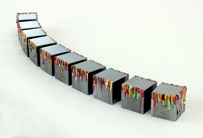 Melanie Rothschild, 'Skyline (set of 10 cubes)', 2014