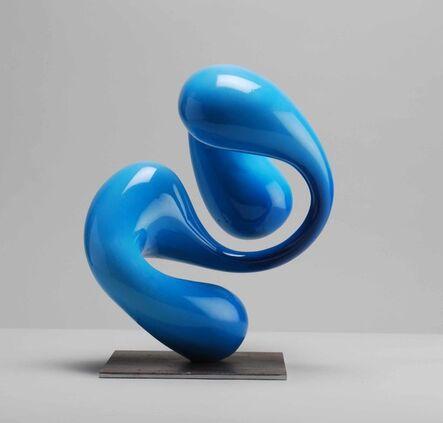 Oliver Barratt, 'Blue Echo', 2019