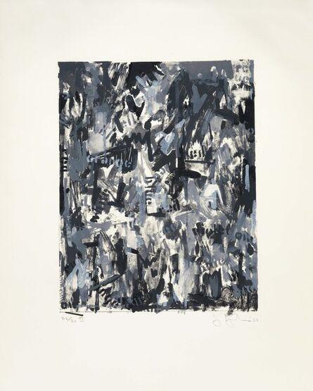 Jasper Johns, 'False Start II', 1962