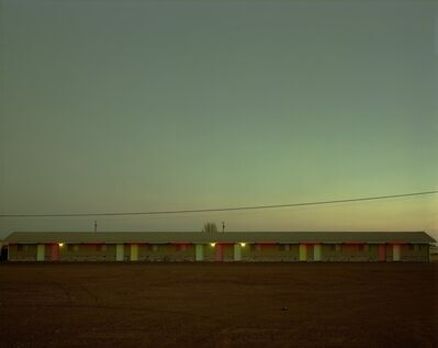 Steve Fitch, 'Siesta Motel, Highway 66, Moriarty, New Mexico, March 29', 1981