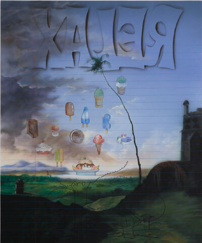 Friedrich Kunath, 'Adagio Gelato (Re:lax)', 2015