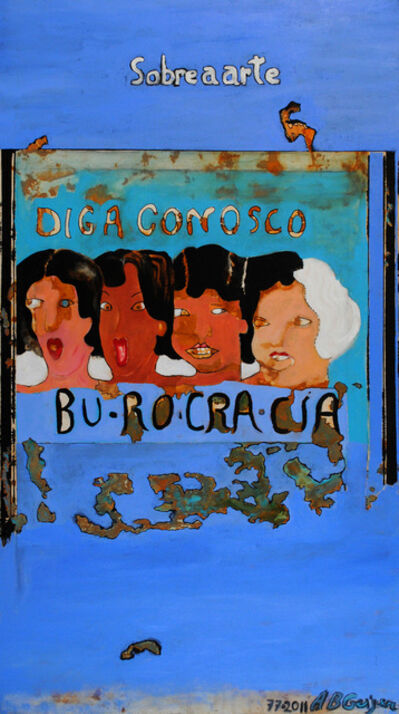 Anna Bella Geiger, 'Burocracia Azul /Blue Bureaucracy', 1997-2011