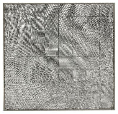 Heinz Mack, 'Schachraster mit Netz (Relief)', 1972