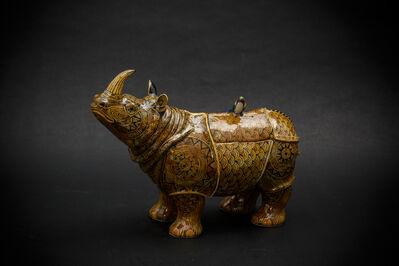 Kensuke Fujiyoshi, '11. Yellow Rhino', 2017