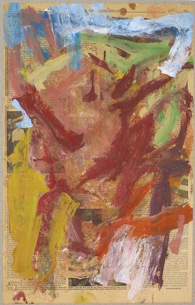 Willem de Kooning, 'Thursday, July 17, 1969', 1969