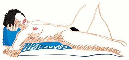 Tom Wesselmann, 'Monica Lying on her Back', 1988