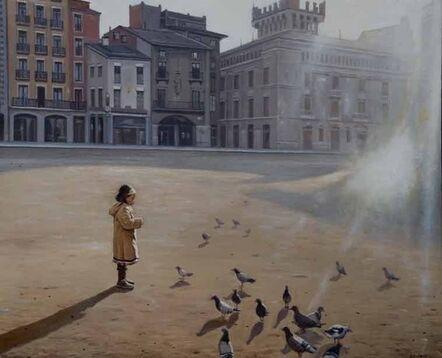 Juan Luis Jardi, 'Girl with Doves', 2017