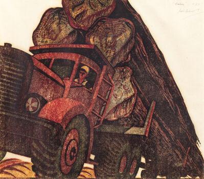 Sybil Andrews, 'Hauling', 1952