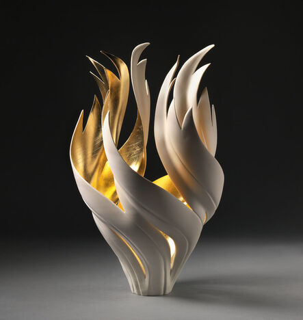 Jennifer McCurdy, 'Gilded Fire Vessel', 2018