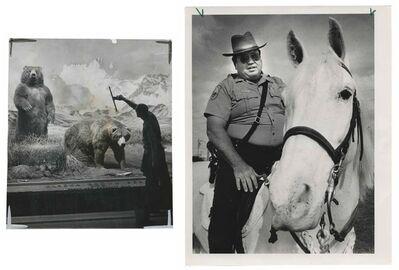 Murray Moss, 'TQ 85/86: A Pair of Alaskan Brown Bears/Metro: Dade Police', 1961/1989