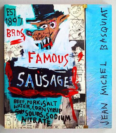 Jean-Michel Basquiat, 'Basquiat Galerie Navarra Catalogue, Paris (Brother Sausage)', 1989