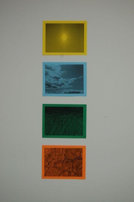 Oscar Figueroa, 'Untitled set of 4 laser prints on paper', 2014