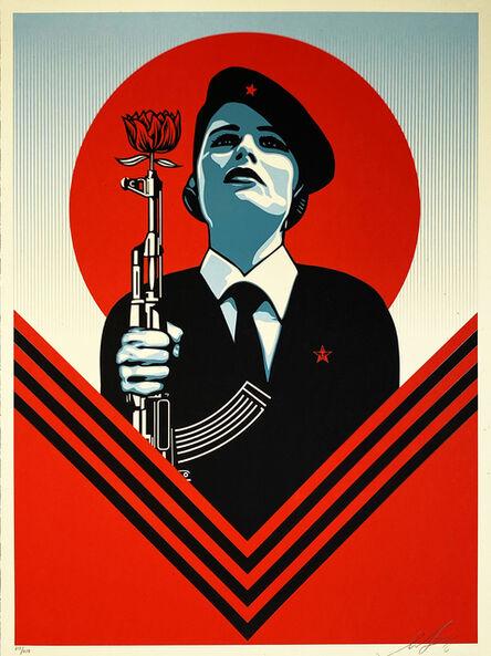 Shepard Fairey, ''Peace Guard 2'', 2016
