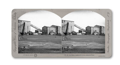 Jeff Brouws, 'Stereograph 180 (Pennsylvania) from American Industrial Heritage Series', 2015