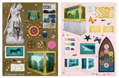 Damien Hirst, 'Beautiful Inside My Head Forever (two works)', 2009