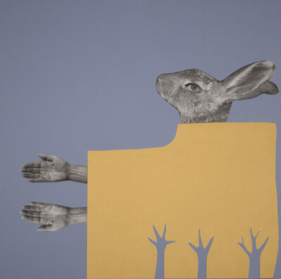 Holly Roberts, 'Rabbit Reaching', 2019