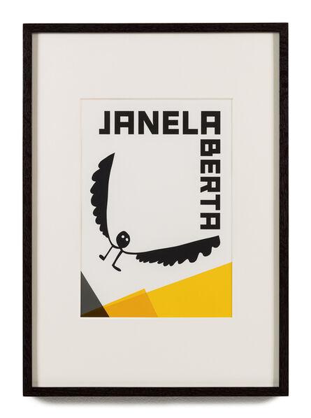 Rivane Neuenschwander, 'O nome do medo (recorte): Janela aberta / The Name of Fear (cut-out): Open Window', 2017
