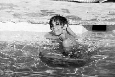 Terry O'Neill, 'Audrey Hepburn in Pool', 1966