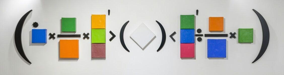 Horacio Zabala, '13 monocromos y 13 signos', 2018