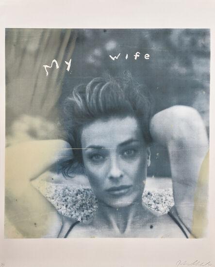 Julian Schnabel, 'MY WIFE', 1998