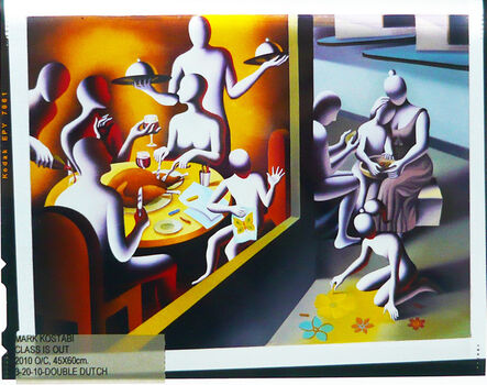Mark Kostabi, 'Artwork on Negative Photographic Film n. 18', 2009-2012
