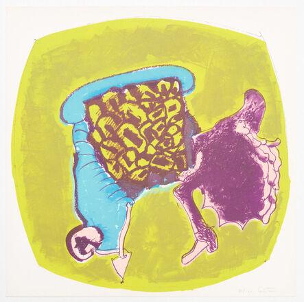 John Altoon, 'About Women (09)', 1966