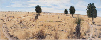 Rackstraw Downes, 'Remains at the Site of the Old Military Cemetery, Fort D.A. Russell, No. 1', 2009