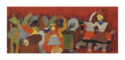 M. F. Husain, 'Untitled (Doll's Wedding)'