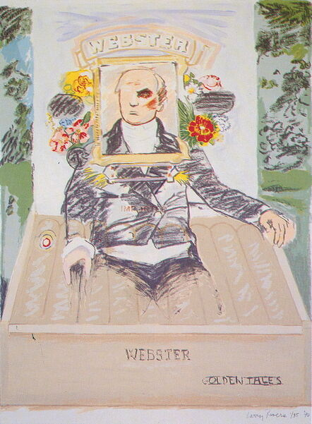 Larry Rivers, 'Golden Tales', 1990