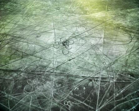 Michael Light, 'Salt Tracks Looking North, Pleistocene Lake Bonneville, Wendover, Utah', 2017