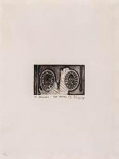 Jasper Johns, 'Ale Cans', 1967-1968