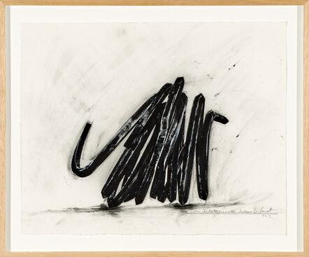 Bernar Venet, 'Two Indeterminate Lines', 2012