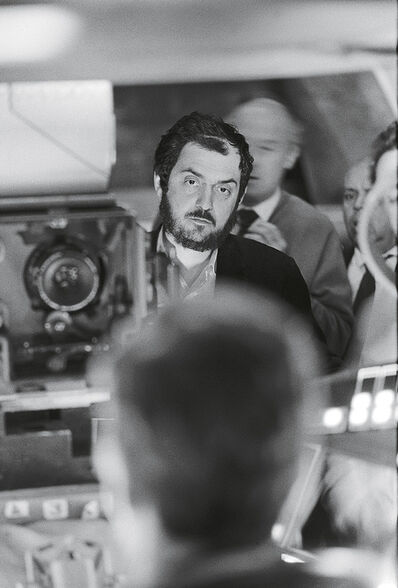 Stanley Kubrick, '2001: A Space Odyssey, directed by Stanley Kubrick (1965-68; GB/United States). Stanley Kubrick during the filming.', 1965-1968