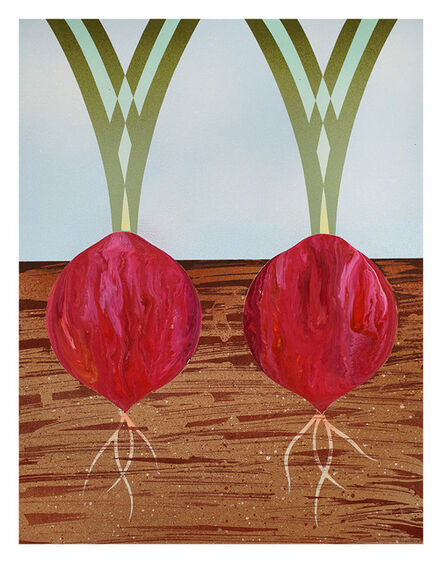 Casey Gray, 'Two Red Onions', 2016