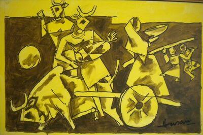 M. F. Husain, 'Untitled', 2006