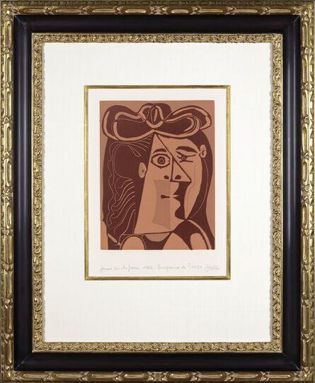 Pablo Picasso, 'Tête de Femme au Chapeau', 1962