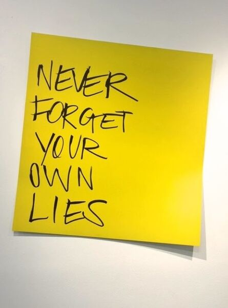 Blue and Joy, 'Never Forget Your Lies', 2015