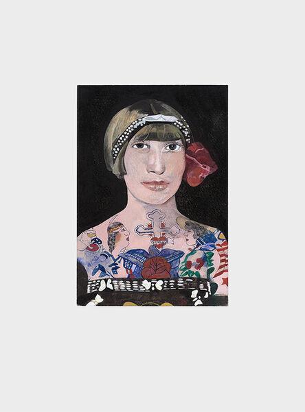 Peter Blake, 'Tattooed People, Gloria', 2015