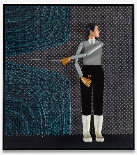 Thomas Zipp, 'Blind Spot Detecting Unit (Splitting Water)', 2021