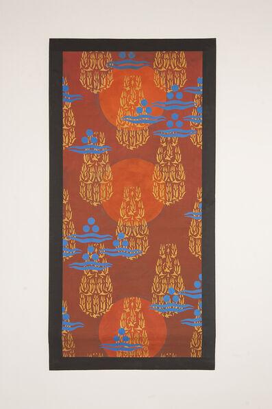 Chant Avedissian, 'P2 - Bukhara floral pattern, Ottoman tiger-stripe and cintamani, 3 circles', 2016