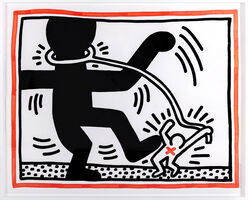 Keith Haring, 'Untitled 2 (Free South Africa)', 1985