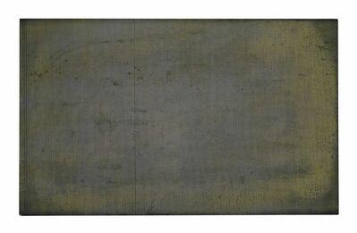 R. H. Quaytman, 'Chapter 7: Denial is a River (yellow velvet)'