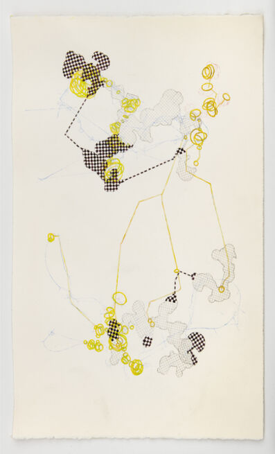 Steve Currie, 'mapping impulses #14', 2020