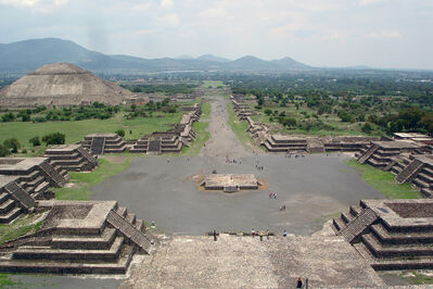 'Ceremonial Center of the City of Teotihuacan', 350-650 CE